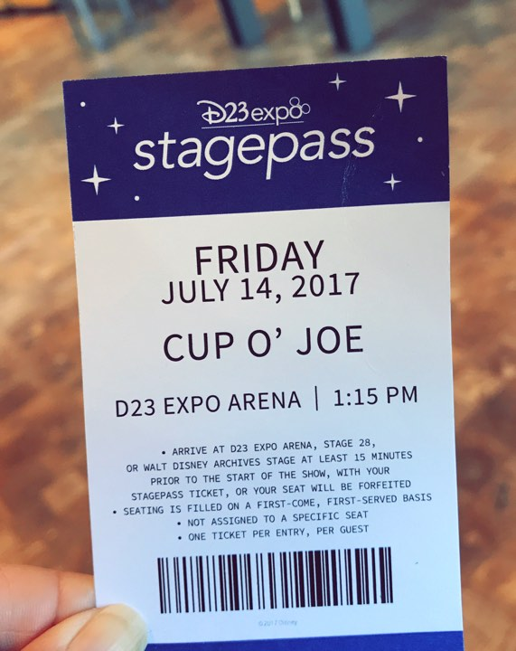 2017 D23 Expo Stagepass