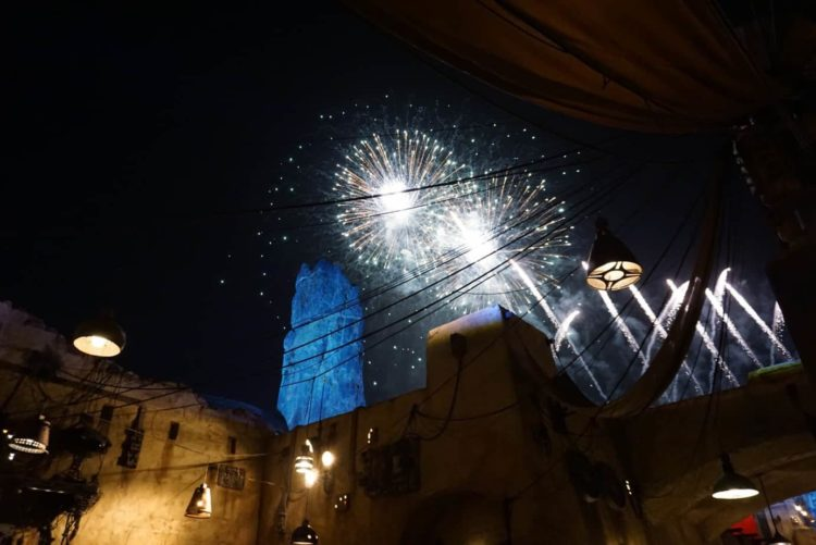 fireworks in batuu