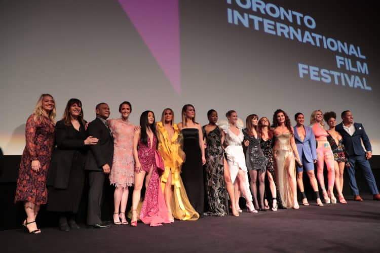 The cast and crew of HUSTLERS attend the Worldwide Premiere during the 2019 Toronto International Film Festival