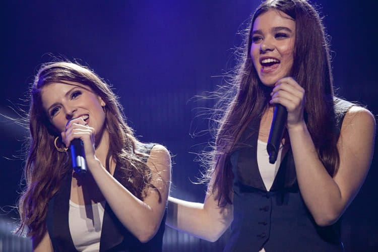 Anna Kendrick and hailee steinfeld in pitch perfect 2