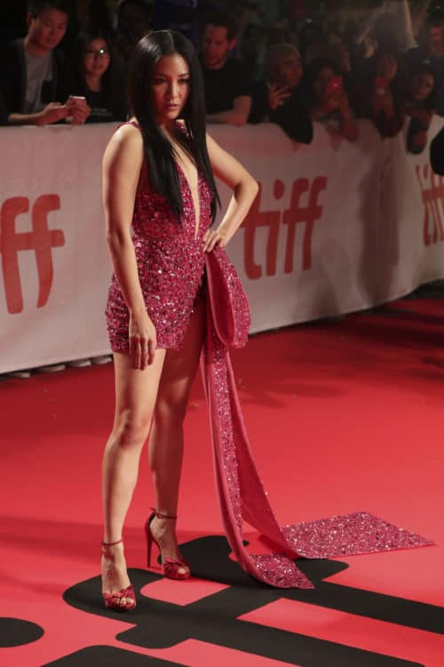 Constance Wu attends the Worldwide Premiere of HUSTLERS during the 2019 Toronto International Film Festival