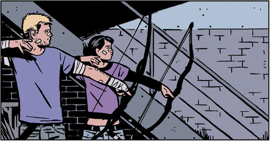 hawkeye and kate bishop marvel comics