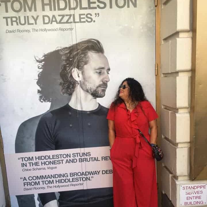 Tom Hiddleston Betrayal poster
