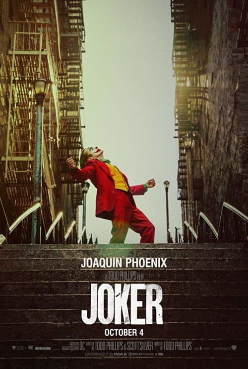 Is Joker Kid-friendly? Joker Movie Poster and podcast review