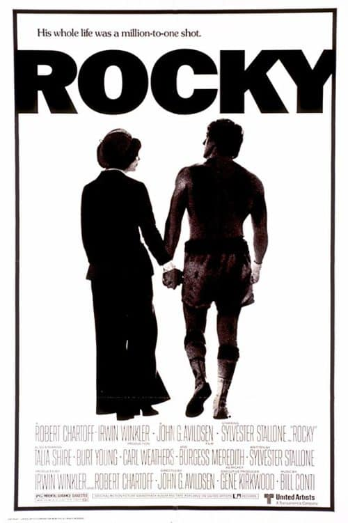 Rocky Movie Poster: on the list of best thanksgiving movies