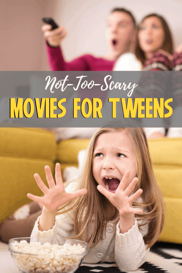 not too scary movies for teens and tweens on netflix