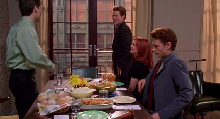 Spider-Man Thanksgiving movie scene