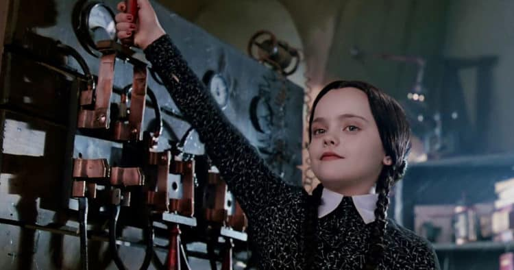 wednesday addams addams family values thanksgiving movie