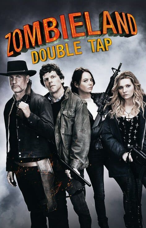 Zombieland Double Tap movie poster and parent review