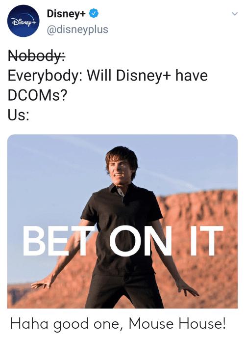 Bet on it Disney Plus meme