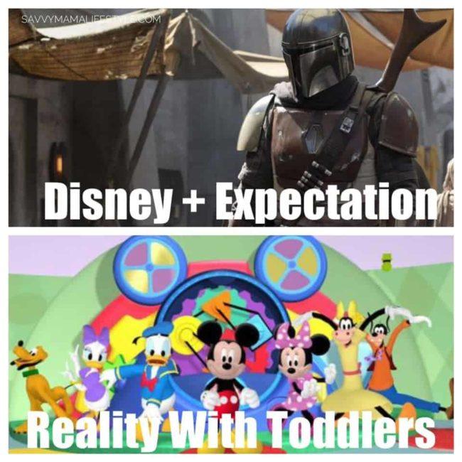 Expectations vs reality Disney Plus meme