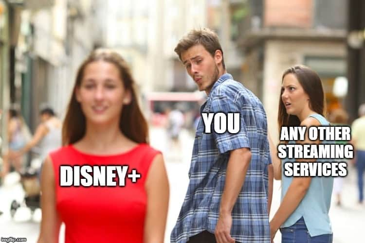 disney plus memes netflix and other streaming services