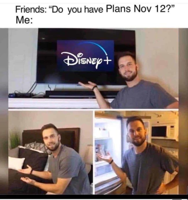 disney plus memes Day 1