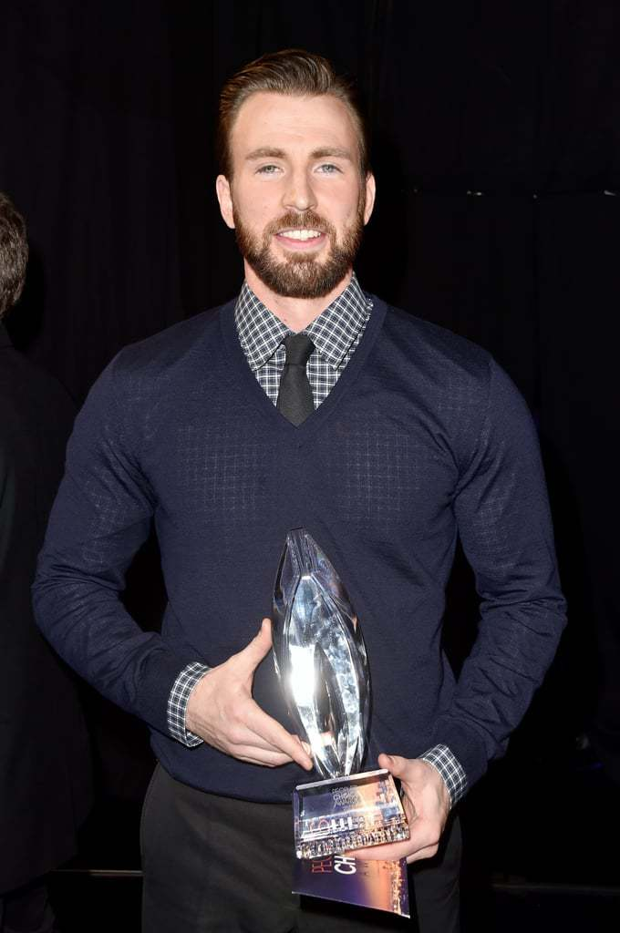Chris-Evans-blue sweater peoples choice