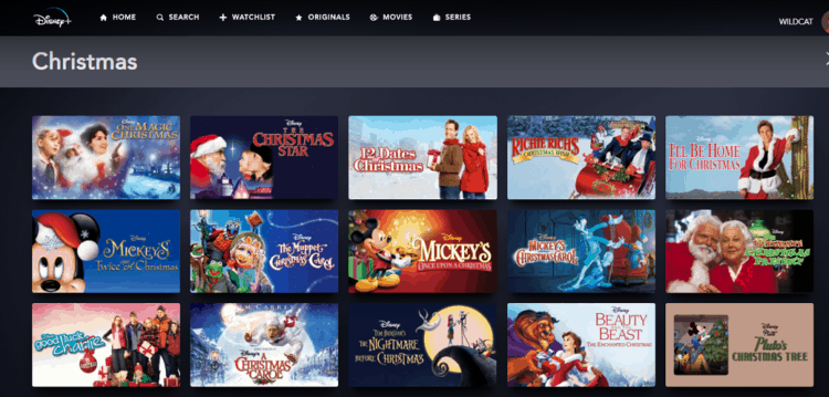 Disney Plus Christmas Movies List