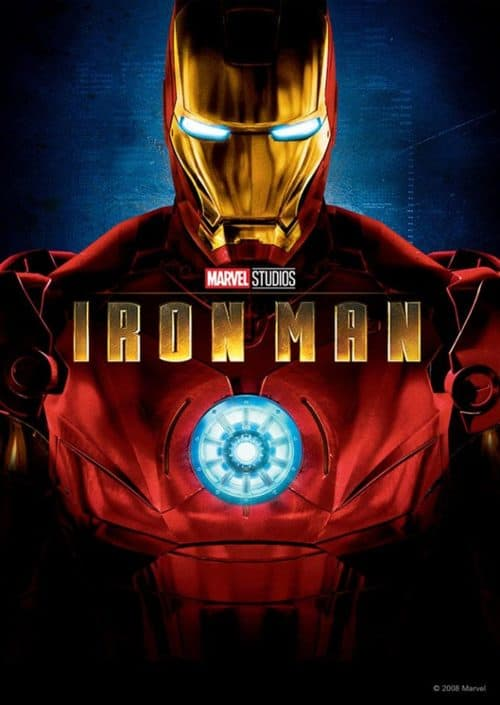 Iron Man movie poster coming to Disney Plus Day 1