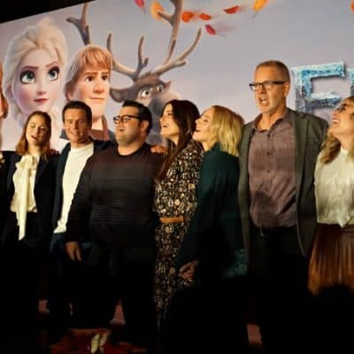 Frozen 2 Press Junket (And Sing-A-Long)
