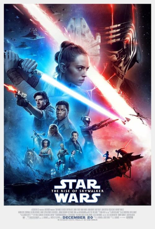 Is rise of skywalker safe for kids? Movie poster