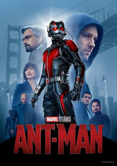 Ant Man Poster Marvel movies coming to Disney Plus Day 1