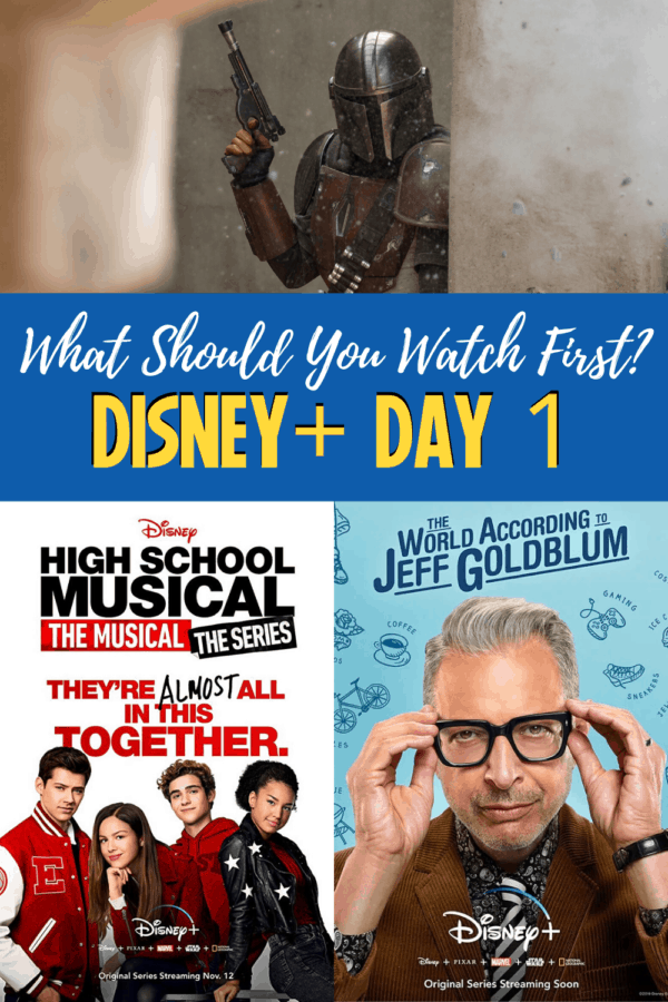 What should you watch first on Day 1 of Disney Plus?