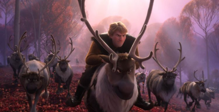Sven and Kristoff in Frozen 2 parent movie review