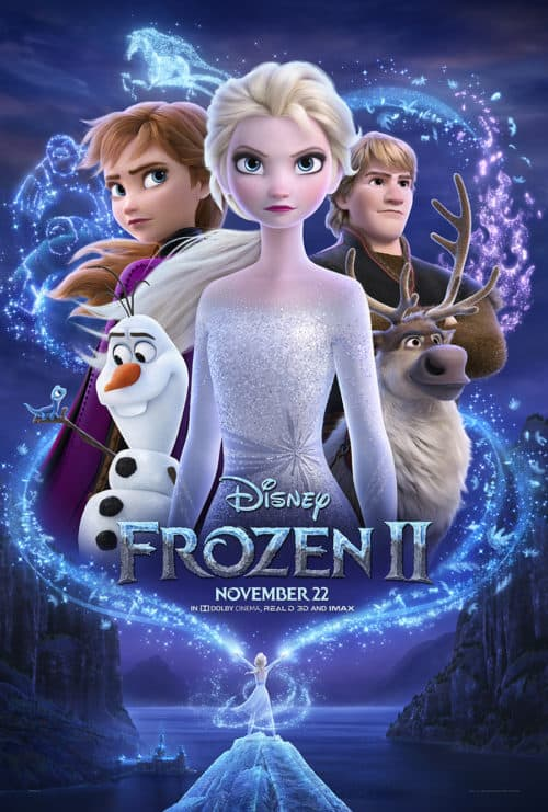 poster for Frozen 2 parent movie review