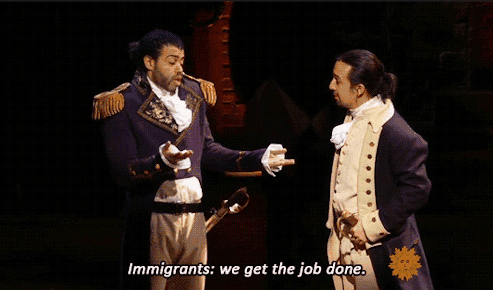 immigrants we get the job done hamilton