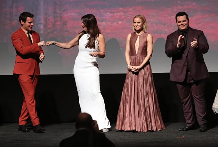 "World Premiere Of Disney's ""Frozen 2"" Johnathan Groff, Idina Menzel, Kristen Bell, Josh Gad"