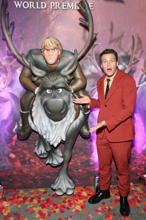 "World Premiere Of Disney's ""Frozen 2"" Johnathan Groff, Sven and Kristoff"