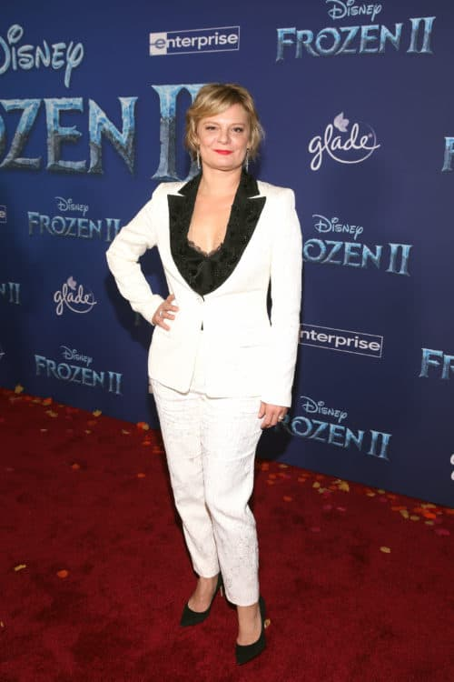 "Frozen 2 red carpet World Premiere Of Disney's ""Frozen 2"" Martha Plimpton"