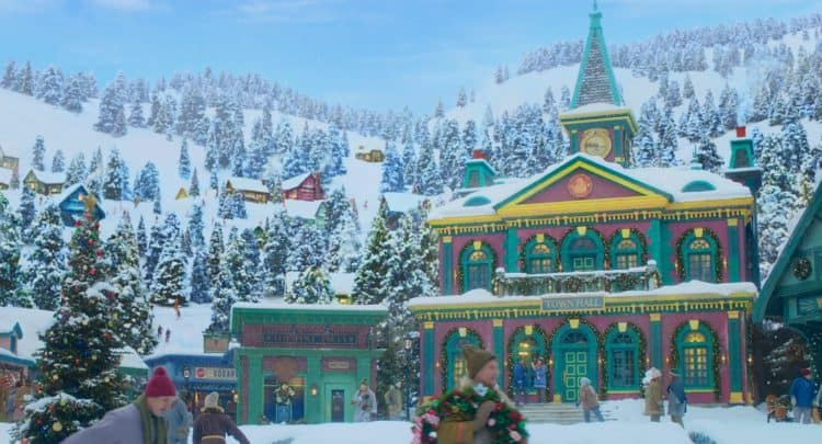 Noelle village not CGI