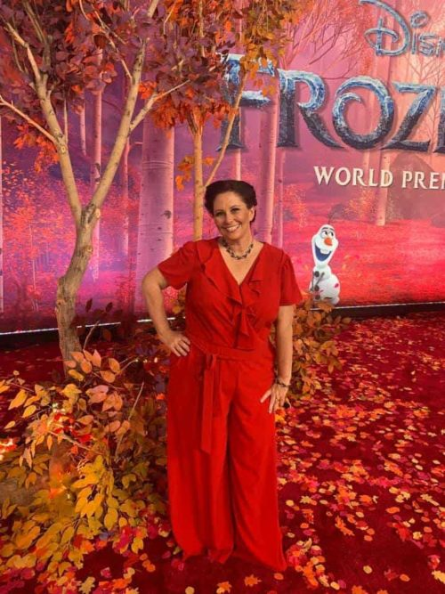 frozen 2 red carpet premiere