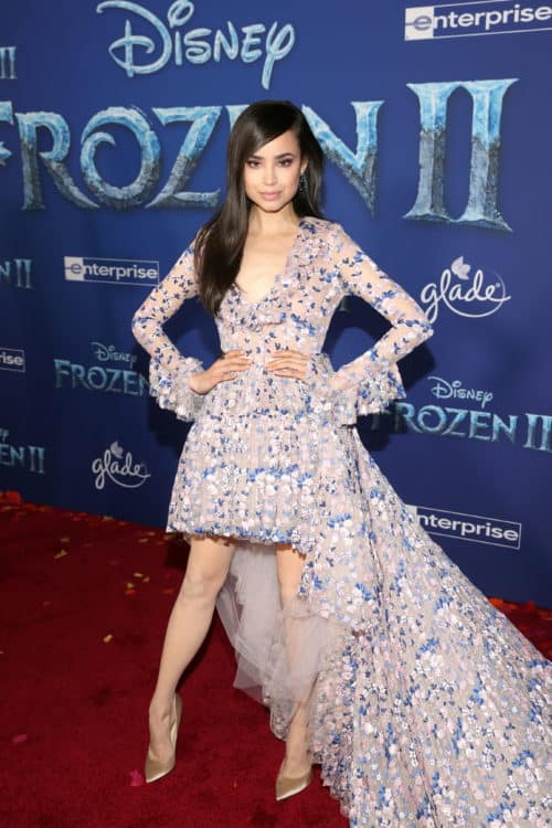 "World Premiere Of Disney's ""Frozen 2"" sofia carson"