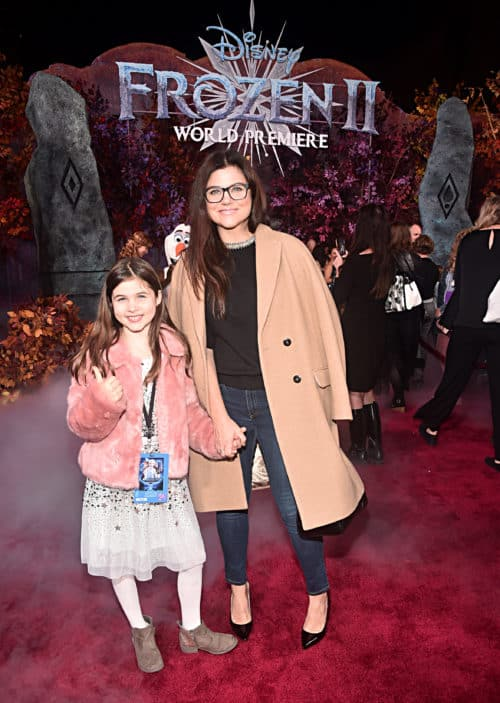 "World Premiere Of Disney's ""Frozen 2"" Harper Renn Smith and Tiffani Thiessen"