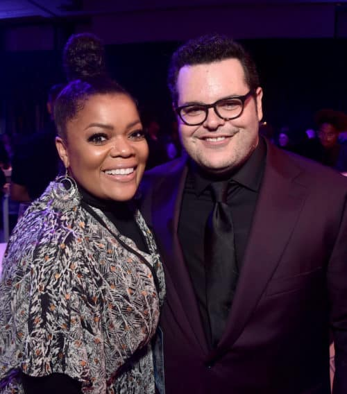 "Frozen 2 red carpet World Premiere Of Disney's ""Frozen 2"" Yvette Nicole Brown and Josh Gad"