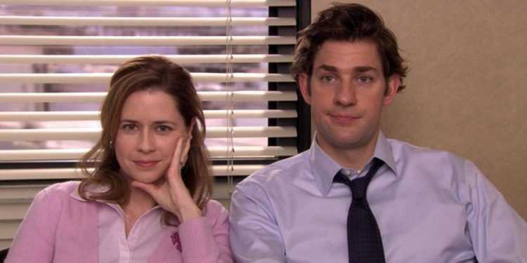 The Office Jim and Pam episode with the virus in it