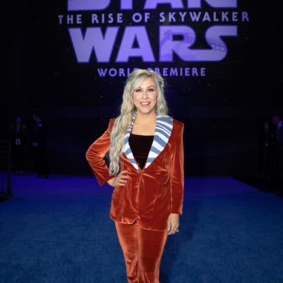 Ashley Eckstein at Rise of Skywalker World Premiere