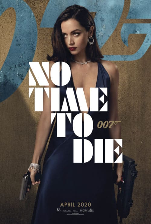 Ana de Armas No Time To Die Character Poster