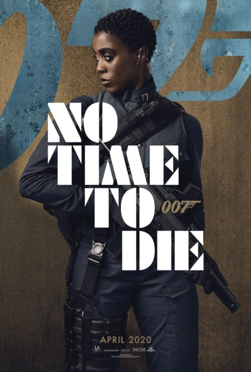 Lashana Lynch No Time To Die Character Poster