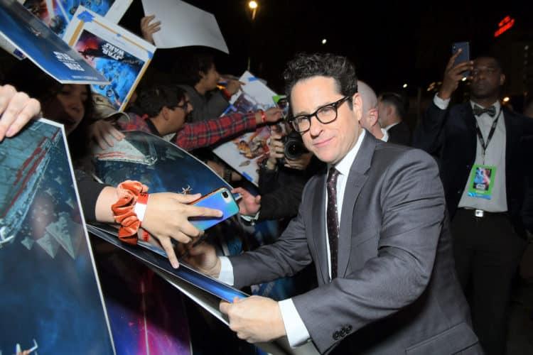 JJ Abrams signing autographs