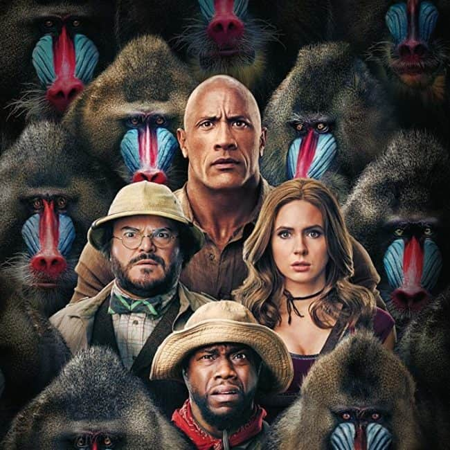 Jumanji the next level kid friendly? <a href=