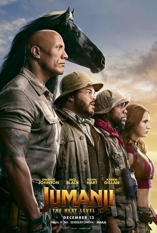 Jumanji: The Next Level is it safe for kids? Parent movie review