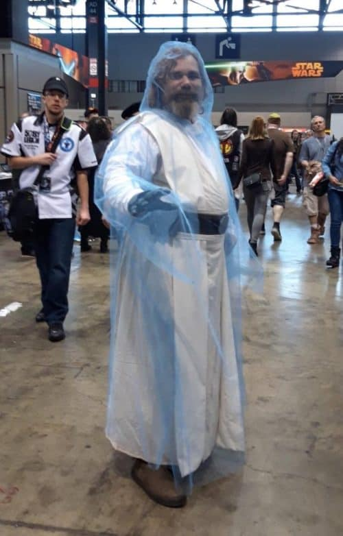Luke Force Ghost cosplay