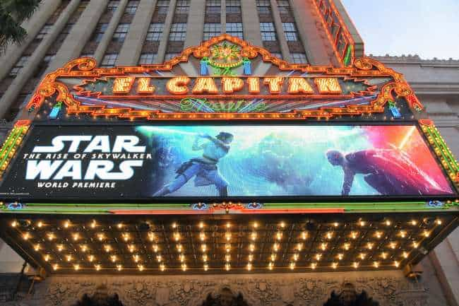 El Capitan Theatre Star Wars Rise of Skywalker