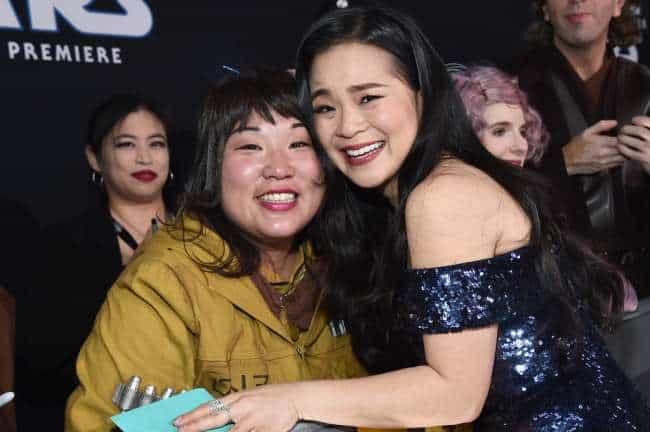 Kelly Tran at Rise of Skywalker World Premiere