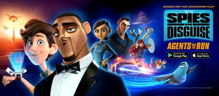 spies in disguise agents on the run video game