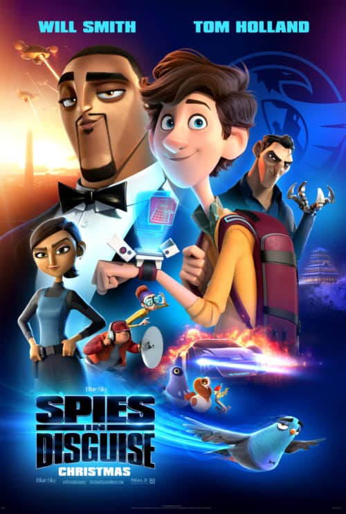 Spies in Disguise movie quotes movie poster Is spies in disguise safe for kids?