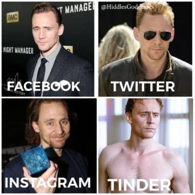 Tom Hiddleston Dolly Parton Challenge Meme