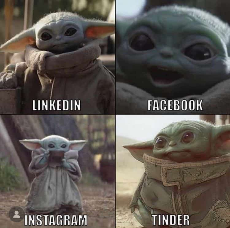 Baby Yoda Dolly Parton Challenge Meme
