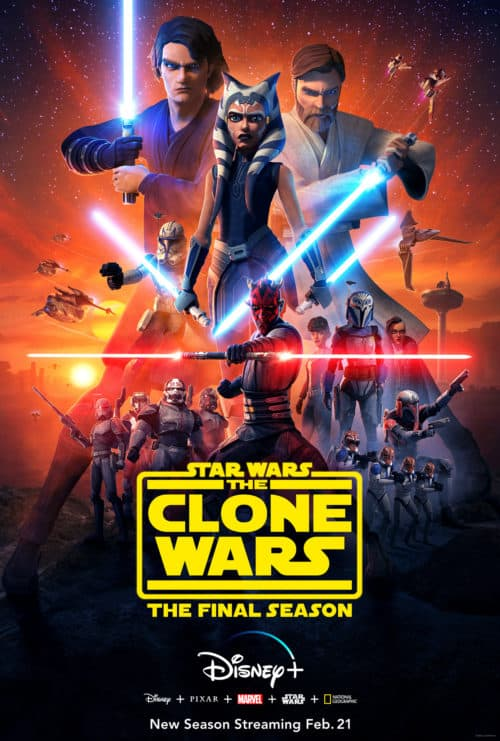 Clone Wars on Disney Plus Final Season Trailer and Poster